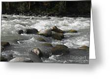 White Waters Greeting Card