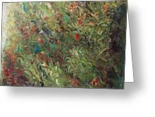 White Wildflowers-2 Greeting Card