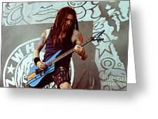 White Zombie 93-jay-0348 Greeting Card