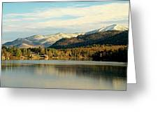 Whiteface Dusting Greeting Card