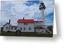 Whitefish Point Lighthouse I Greeting Card