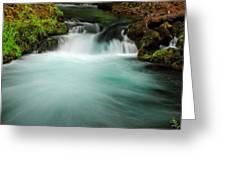Whitehorse Falls 3 Greeting Card