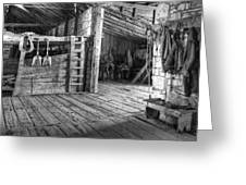 Whitehorse Ranch 3 Greeting Card by Ron Schwager
