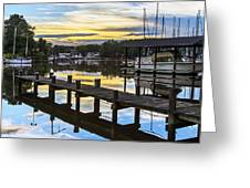 White's Cove Sunset Greeting Card