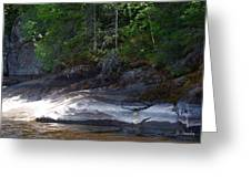 Whiteshell Provincial Park Lakeshore Greeting Card