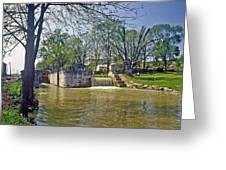 Whitewater Canal Metamora Indiana Greeting Card
