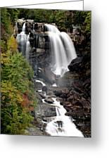 Whitewater Falls - Nc Greeting Card