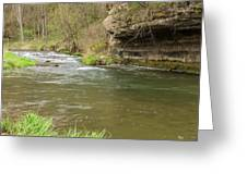 Whitewater River Spring 42 Greeting Card