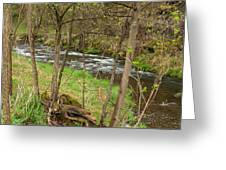 Whitewater River Spring 43 Greeting Card
