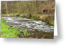 Whitewater River Spring 44 Greeting Card