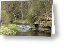 Whitewater River Spring 45 A Greeting Card
