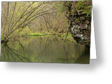 Whitewater River Spring 51 Greeting Card