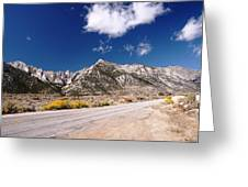 Whitney Portal Road Greeting Card
