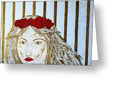 Who Is She? Greeting Card