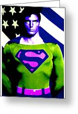 Who Is Superman Greeting Card