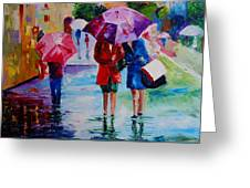 Who Loves Shopping Greeting Card