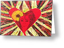 Who Needs Roses? Greeting Card