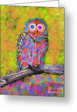 Who Who's There Greeting Card