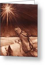 Why Would Wisemen Follow A Star? Greeting Card by Linda Anderson