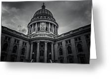 Wi Capitol Greeting Card