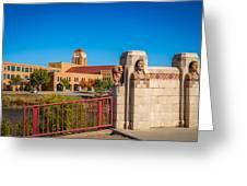 Wichita Bridge #1 Greeting Card