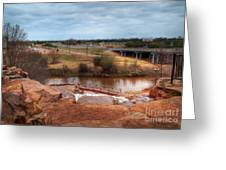 Wichita Falls View Greeting Card