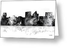 Wichita Kansas  Skyline Greeting Card