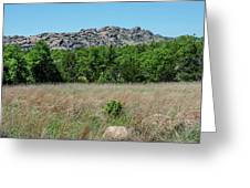 Wichita Mountains Wildlife Refuge - Oklahoma Greeting Card