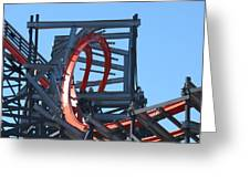 Wicked Cyclone Stall Greeting Card