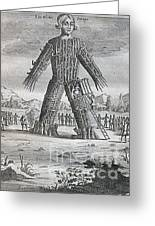 Wicker Man Greeting Card