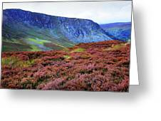 Wicklow Heather Carpet Greeting Card