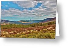 Wicklow Mountains  Greeting Card