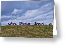 Wide Brown Land - Canberra - Australia Greeting Card