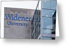 Widener University - Metropoliton Hall Greeting Card