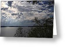 View Across Wappapello Lake Greeting Card