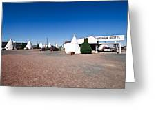 Wigwam Motel #2 Greeting Card