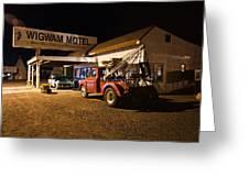 Wigwam Motel #3 Greeting Card