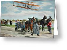 Wilbur Wright In France Greeting Card