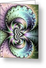 Wild And Crazy Fractal Art Vertical Greeting Card