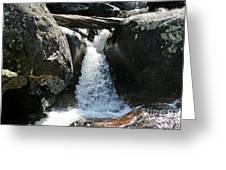 Wild Basin Waterfall Greeting Card