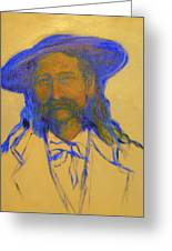 Wild Bill Hickok Greeting Card by Johanna Elik