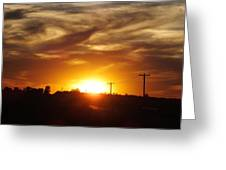 Wild Clouds Greeting Card