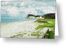 Wild Coastline Greeting Card
