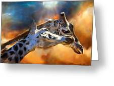 Wild Dreamers Greeting Card