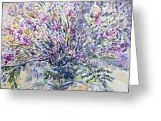 Wild Flowers #4 Greeting Card