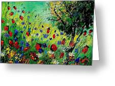 Wild Flowers 670130 Greeting Card