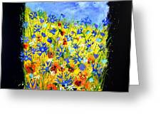 Wild Flowers 677130 Greeting Card