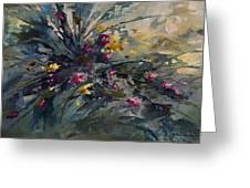 'wild Flowers' Greeting Card