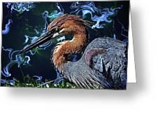 Wild Goliath Herona Greeting Card
