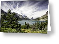 Wild Goose Island Glacier Park 2 Greeting Card